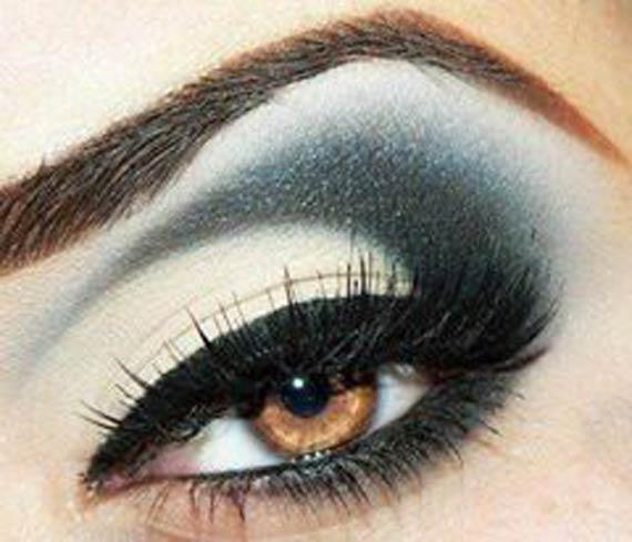 مدل آرایش چشم های ریز,مدل آرایش چشم برای چشم ریز,مدل آرایش چشم برای چشمهای ریز,مدل آرایش چشم تصویری