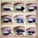آموزش سایه چشم خطی,سایه چشم خطی برش دار,آموزش سایه چشم با عکس,سایه چشم خطی جدید,انواع سایه چشم خطی