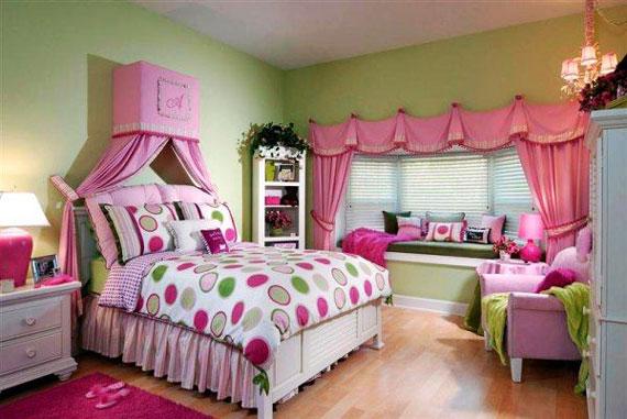 عکس اتاق خواب دخترانه شیک,اتاق خواب دخترانه جوان,عکس اتاق خواب دخترانه جوان