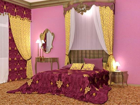 دکوراسیون اتاق خواب رمانتیک,اتاق خواب رمانتیک,مدل اتاق خواب رمانتیک,مدل اتاق خواب عاشقانه