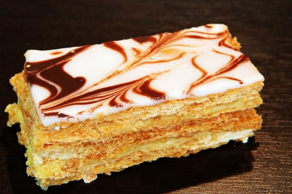 آموزش پخت شیرینی ناپلئونی,دستور پخت شیرینی ناپلئونی,طرز تهیه شیرینی ناپلئونی