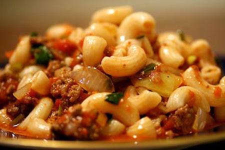 طرز تهیه ماکارونی با قارچ و گوشت,طرز تهیه ماکارونی با گوشت چرخ کرده و قارچ,طرز تهیه ماکارونی با گوشت و قارچ