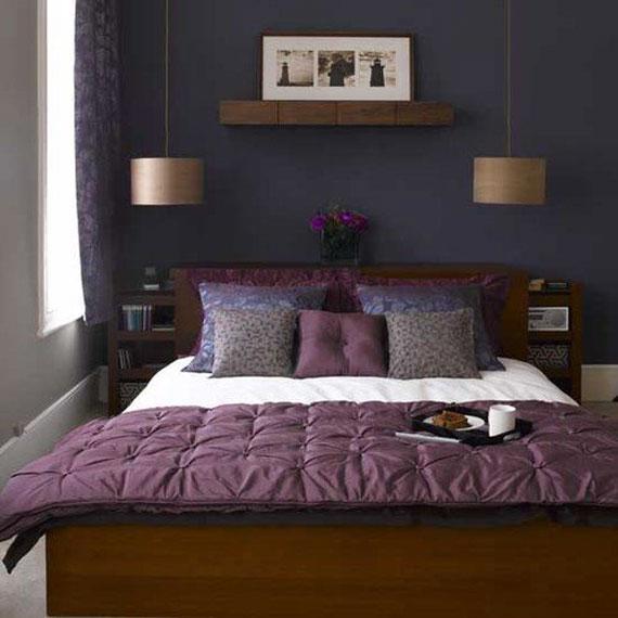 دکوراسیون اتاق خواب بنفش,دکوراسیون اتاق خواب بنفش و سفید,عکسهای اتاق خواب بنفش