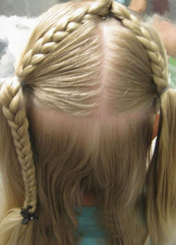 آموزش تصویری آرایش مو دخترانه با حرف A,آموزش تصویری آرایش مو دخترانه,آموزش تصویری آرایش مو, آموزش تصویری آرایش موی دخترانه