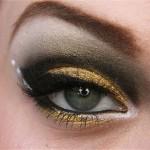 مدل آرایش چشم با سایه دودی,آرایش چشم با سایه دودی,خط چشم دودی
