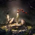 داستان کوتاه و جذاب(بهترین شمشیر زن),بهترین شمشیر زن,سوال از استاد در مورد بهترین شمشیر زن,سنگ و شمشیر,سوال از استاد