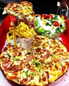 طرز تهیه پیتزا مخلوط,طرز پخت پیتزا مخلوط,آموزش تهیه پیتزا مخلوط