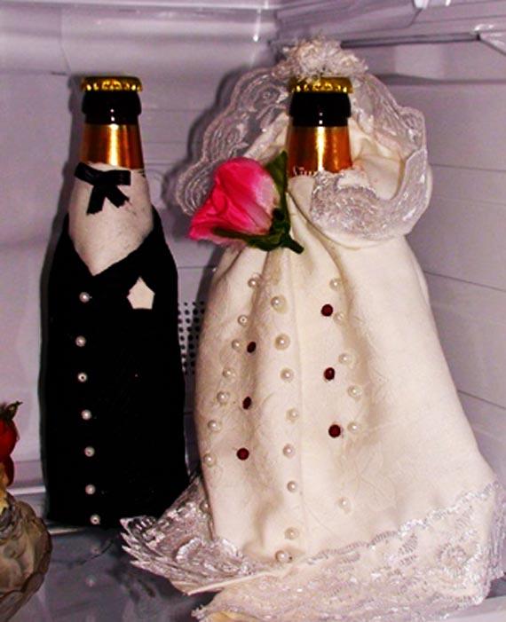 تزیین جدید یخچال عروس,عکس جدید تزیین یخچال عروس,تزیینات جدید یخچال عروس
