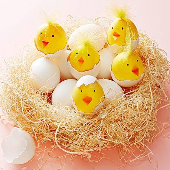 تزیین تخم مرغ عید, تزیین پوست تخم مرغ, مدل تزیین تخم مرغ