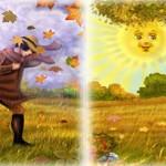 داستان حکمت آموز کوتاه(زورآزمایی خورشید و باد),زورآزمایی خورشید و باد,داستان حکمت آمیز,داستان حکمتی,داستان حکیمانه کوتاه
