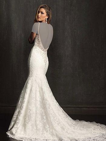 لباس عروس تاپ