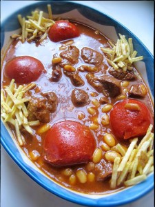 طرز تهیه خورش لوبیا سفید (فاصولیه),طرز تهیه خورش لوبیا سفید,خورشت لوبیا سفید,خورشت با لوبیا سفید,طرز پخت خورشت لوبیا سفید
