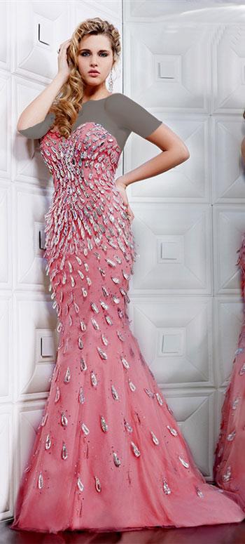لباس مجلسی مدل ماهی