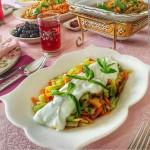 طرز تهیه خوراک قفقازی,طرز پخت خوراک قفقازی,خوراک قفقازی,خوراک مرغ قفقازی