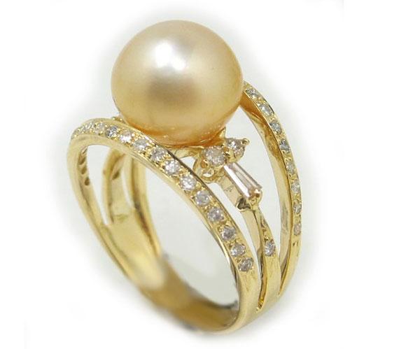انگشتر زنانه با نگین مروارید,انگشتر جواهر مروارید,مدلهای انگشتر مروارید,طرح انگشتر مروارید,انگشتر با نگین مروارید,انگشتر طلای مروارید