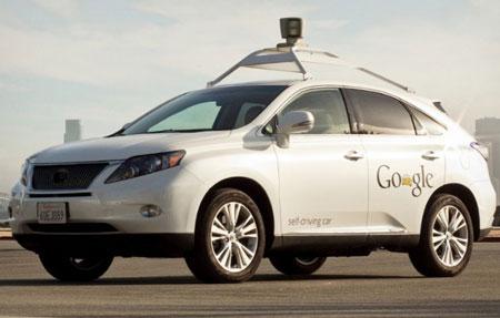 جهان از نگاه خودروی هوشمند گوگل