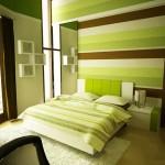 دکوراسیون اتاق خواب سبز رنگ,اتاق خواب به رنگ سبز,دکوراسیون اتاق خواب سبز