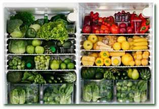 طریقه نگهداری مواد غذایی در یخچال