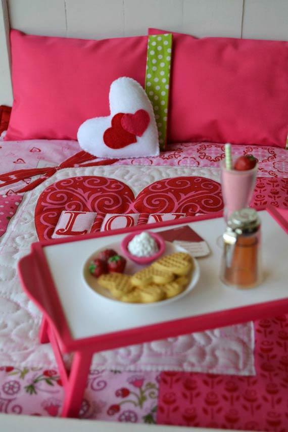 تزیین اتاق خواب برای ولنتاین,تزیین اتاق خواب عاشقانه,تزیینات اتاق خواب عروس
