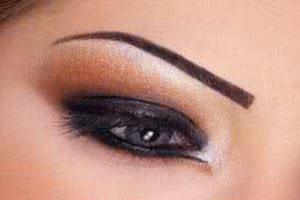آرایش چشم,آرایش چشم دودی