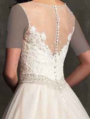 لباس عروس دامن پفی
